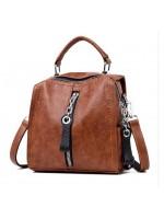 Sieviešu soma. Mugursoma  no dabīgas ādas