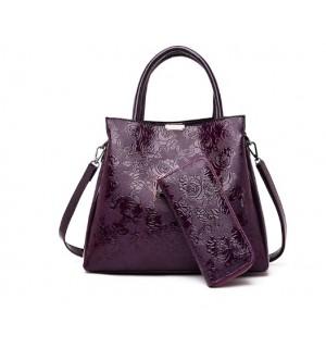 Sieviešu soma (komplektā ar maku)