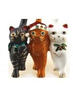 Broša.Trīs kaķi